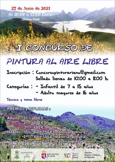 CONCURSO PINTURA RIAÑO (TURISMO MONTAÑA RIAÑO)