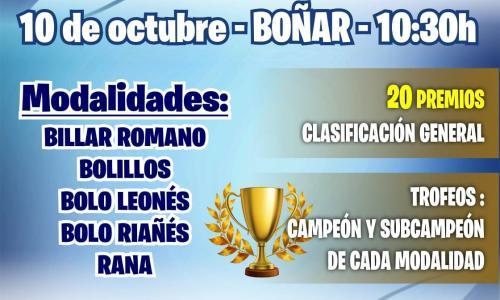 Campeonato provincial de deportes autóctonos.