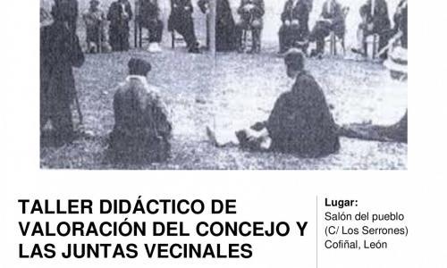 Taller didáctico de valoración del Concejo y las Juntas Vecinales.