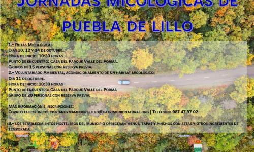 Jornadas micológicas de Puebla de Lillo.