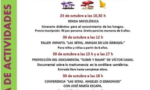 Actividades Centro de Visitantes La Fonseya.