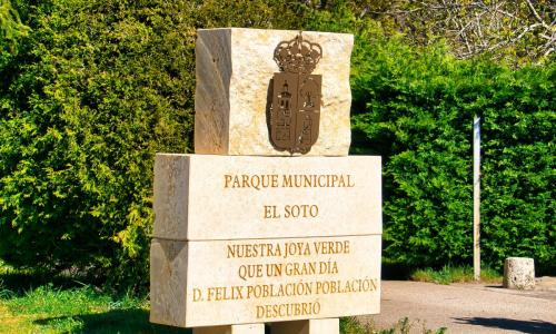 El Soto: Área de Autocaravanas
