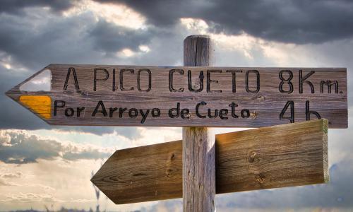 PR-LE 55: Ascensión a Pico Cueto