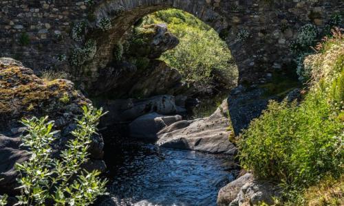 Puente de Cerulleda. La puente de abajo