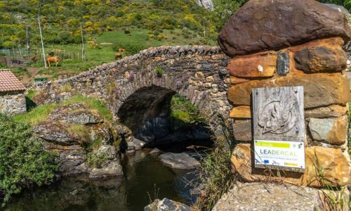Puente de Cerulleda. La puente de Arriba
