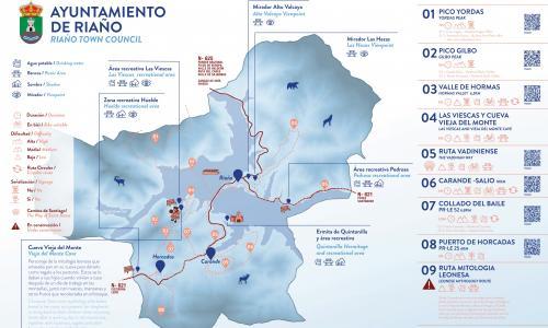 Mapa turístico: Ayuntamiento de Riaño