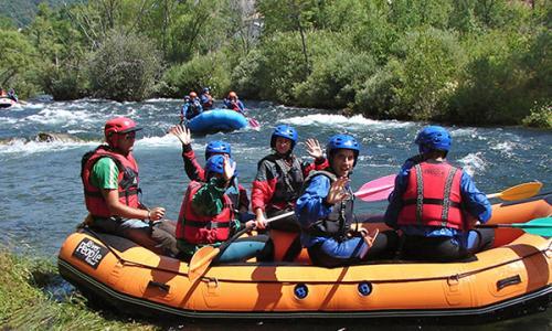 Kayak Pico Azul: Agua