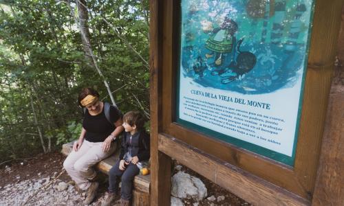Ruta la Cueva la Vieja el Monte
