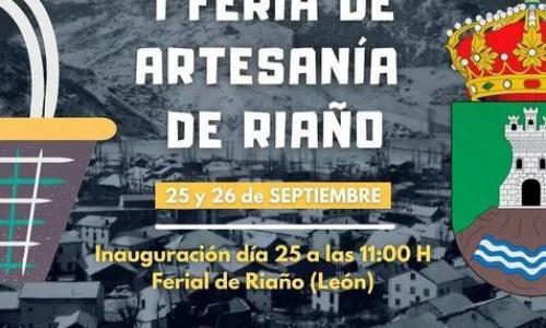 I Feria de Artesanía en Riaño