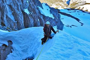 Kayak Pico Azul: Nieve2