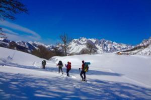 Kayak Pico Azul: Nieve3