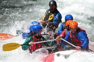 Kayak Pico Azul: Agua4
