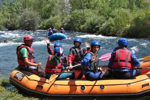 Kayak Pico Azul: Agua0