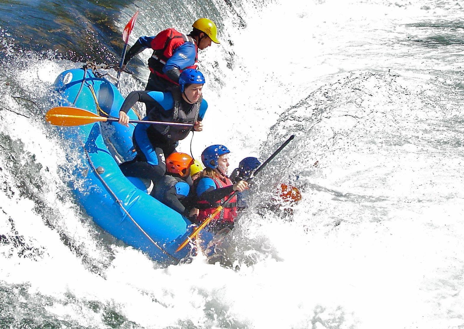 Kayak Pico Azul: Agua1