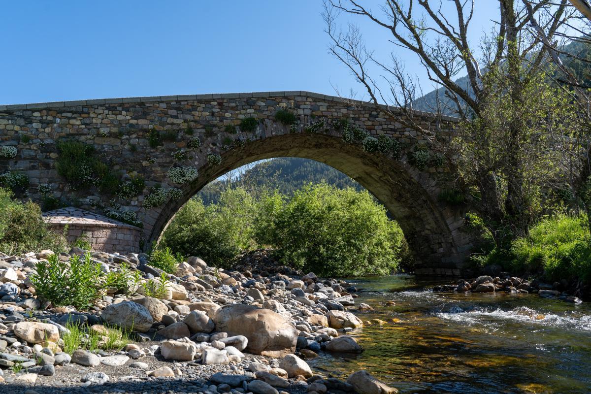 """Puente de """"Los campos de Lugueros""""2"""