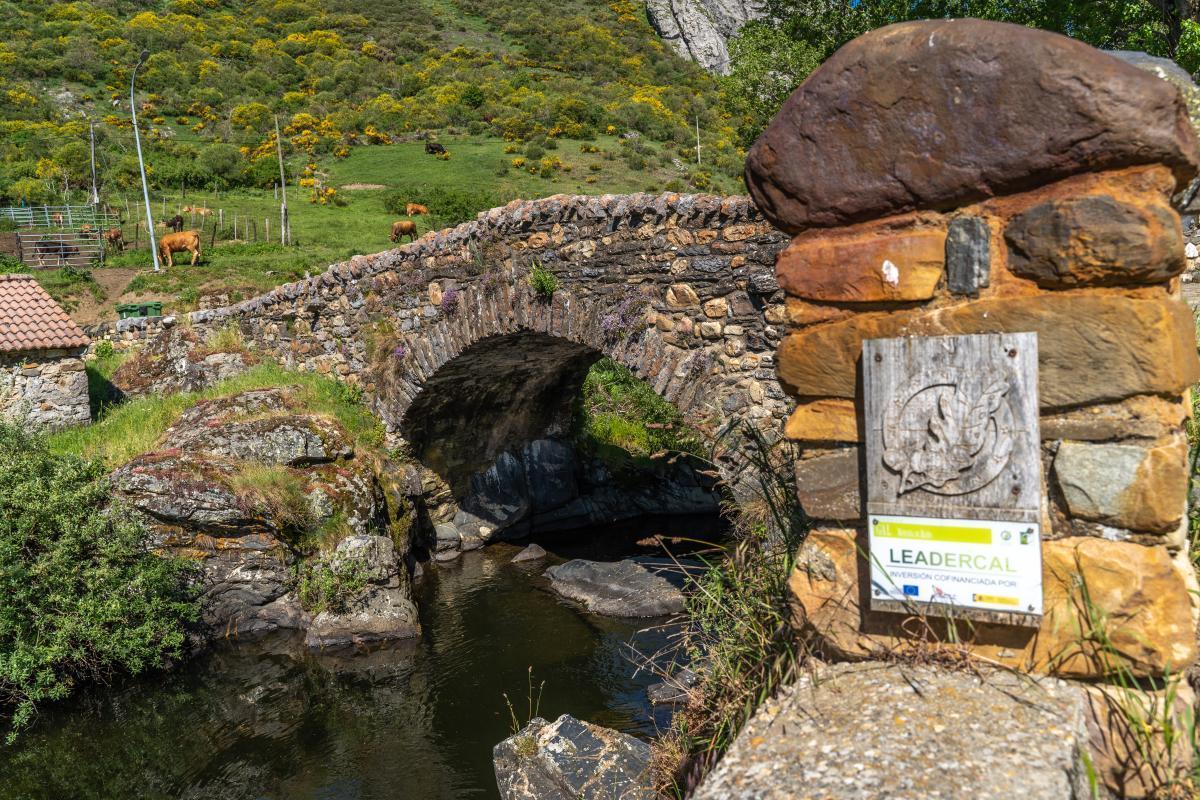 Puente de Cerulleda. La puente de Arriba0