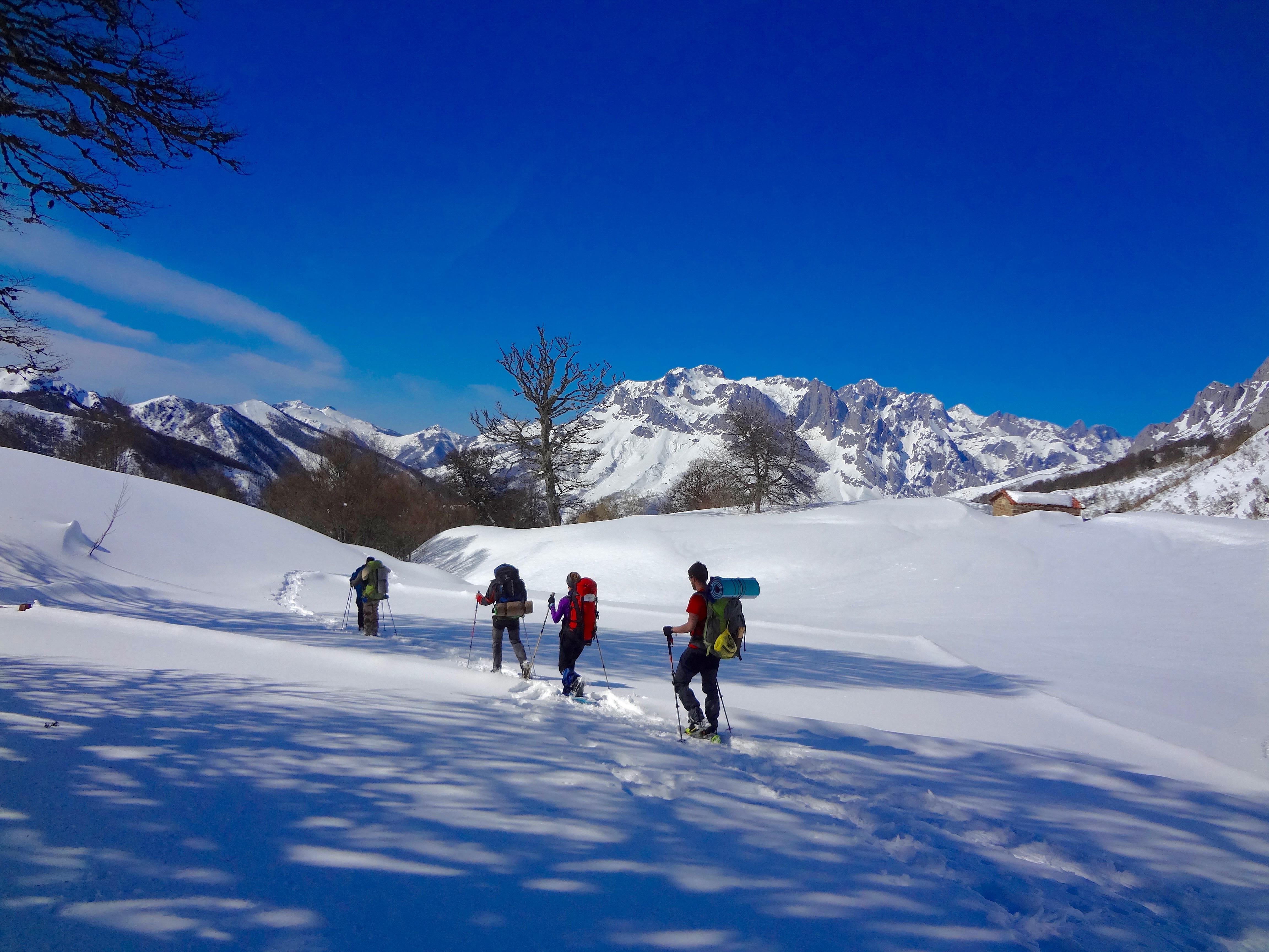 Kayak Pico Azul: Nieve1