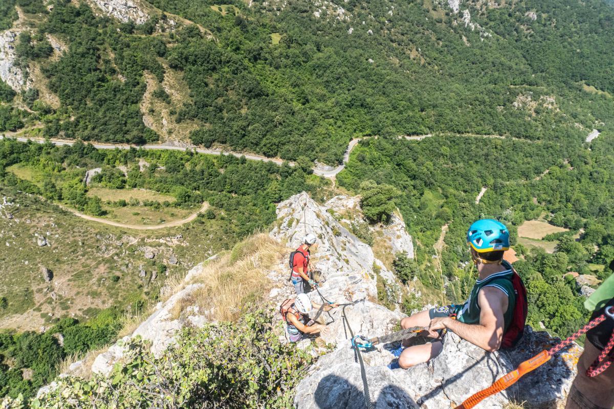 Vía Ferrata: Cordiñanes1